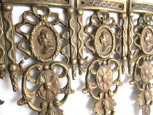 UpperDutch:Furniture applique,1 (ONE) Brass Antique Cabinet Ornament Furniture Applique. Decoration mount, Authentic hardware, restoration supplies