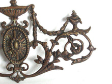 UpperDutch:,Antique bronze/brass furniture ornament, cabinet decoration.Antique hardware,bronze applique,restoration hardware. Leaf motive