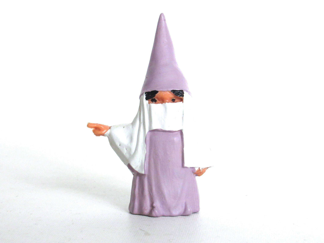 UpperDutch:,1 (ONE) Gnome after a design by Rien Poortvliet, Brb Gnome, Lisa the Gnome. Khimar, niqab burqa, traditional burqa, French hijab