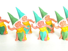 UpperDutch:,1 (ONE) Gnome figurine, Gnome after a design by Rien Poortvliet, Brb Gnome dancing, Lisa the Gnome.