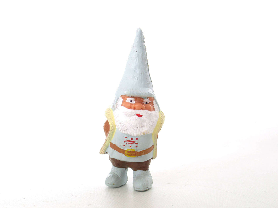 UpperDutch:,1 (ONE) Gnome figurine, Gnome after a design by Rien Poortvliet, Brb Gnome, David the Gnome.