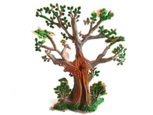 UpperDutch:,1 (ONE) Tree, Gnome Decoration, Startoys, Plastic Tree , Rien Poortvliet, BRB collectibles, David el gnomo.