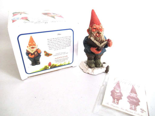 UpperDutch:Gnome,'Arthur' Singing or story telling Gnome figurine. Classic gnomes series by AAAAAAA International Co. Ltd. Designed by Rien Poortvliet.
