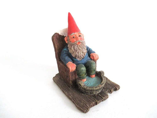 UpperDutch:Gnome,Classic Gnomes 'Bill' Gnome figurine after a design by Rien Poortvliet