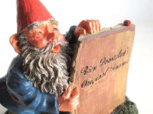UpperDutch:,Classic Gnomes 'Moses' after a design by Rien Poortvliet, Gnome Figurine Rien Poortvliet's Original gnomes.