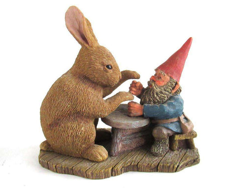 UpperDutch:Gnome,Classic Gnomes 'Ollekebolleke' Gnome playing game Rien Poortvliet, David the Gome.