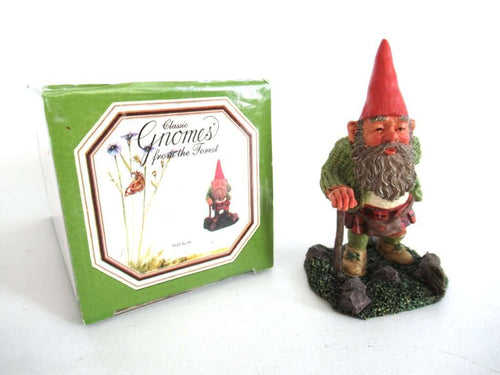 UpperDutch:Gnome,Classic Gnomes 'Scott' Gnome with Kilt. After a design by Rien Poortvliet.