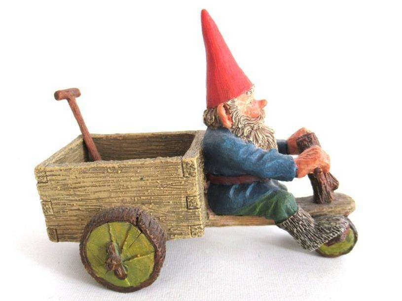 UpperDutch:Gnome,Classic Gnomes 'Thomas' Gnome figurine after a design by Rien Poortvliet