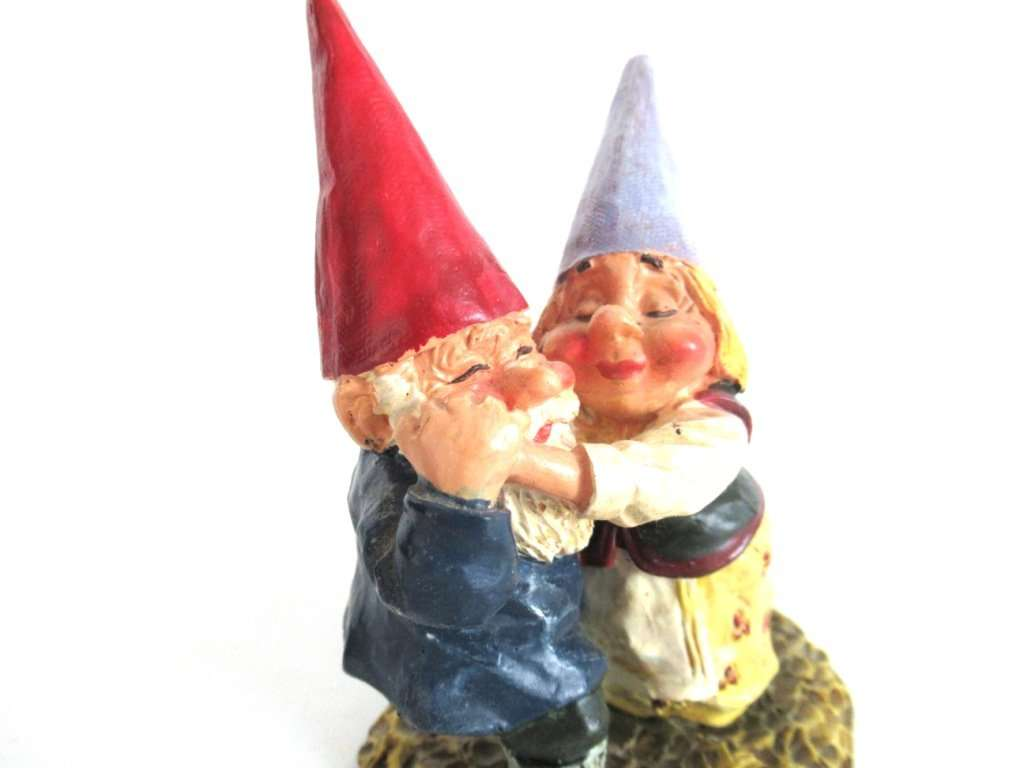... UpperDutch:Gnome,Dancing Gnome Couple After A Design By Rien Poortvliet  ...