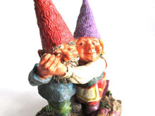 UpperDutch:,'Fryda and Fred Dancing' Rien Poortvliet gnome firgurine. Dancing Gnome couple. Dutch Classic Gnomes series. AAAAAAA International Co. Ltd.