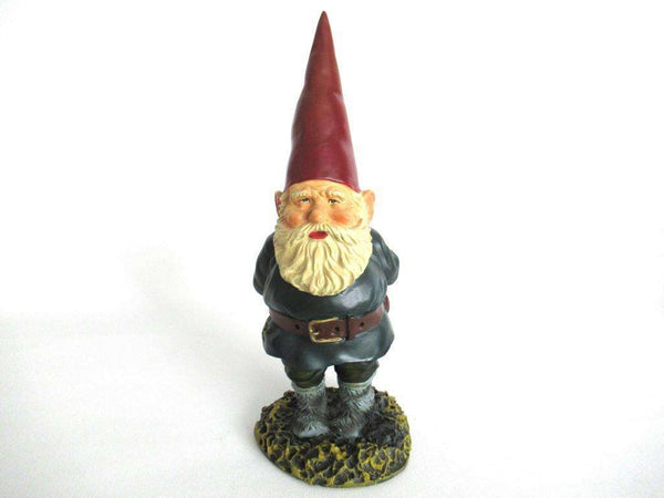 UpperDutch:Gnome,Garden Gnome 10 inch after a design by Rien Poortvliet, David the Gnome.
