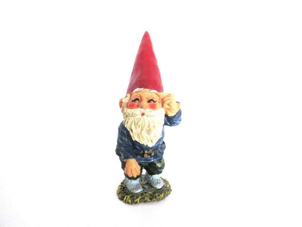 UpperDutch:Gnome,Gnome figurine after a design by Rien Poortvliet, David the Gnome.