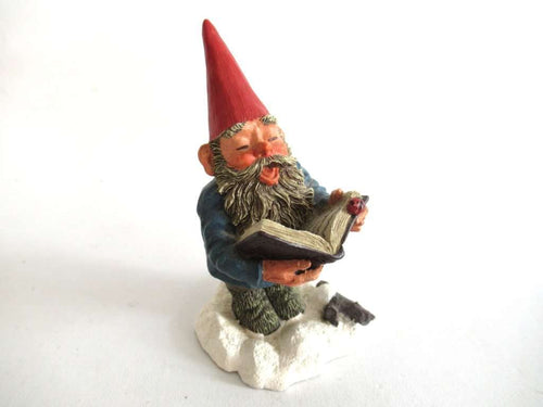 UpperDutch:Gnome,Gnome Figurine Singing or story telling. Classic gnomes 'Arthur' series by AAAAAAA International Co. Ltd. Designed by Rien Poortvliet.