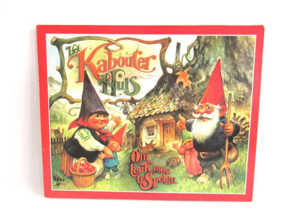 UpperDutch:Gnome,Gnome Pop-up Book Rien Poortvliet, David the Gnome, Klaus Wickl.