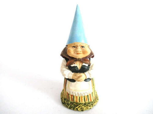 UpperDutch:Gnome,Lisa the Gnome figurine after a design by Rien Poortvliet