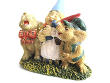 UpperDutch:Gnome,'Living Together' Gnome Figurine after a design by Rien Poortvliet.