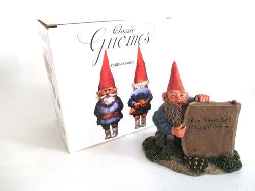 UpperDutch:Gnome,'Moses' gnome figurine after a design by Rien Poortvliet, Classic Gnome Figurine Original gnomes.