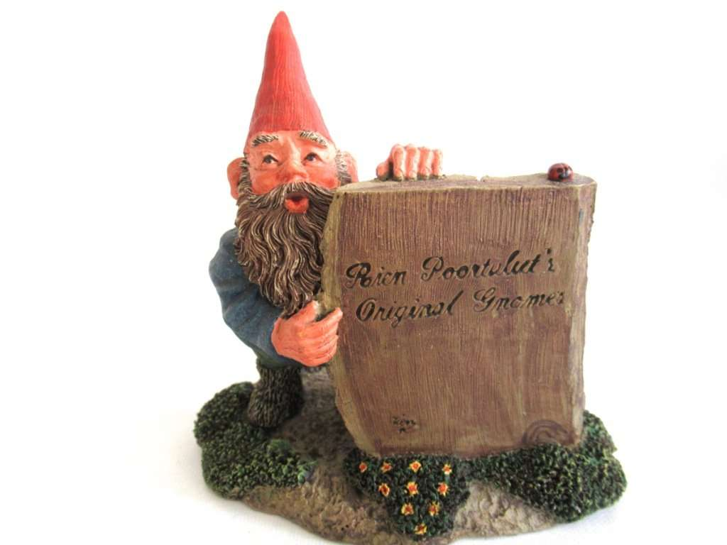 Moses\' gnome figurine after a design by Rien Poortvliet, Classic ...
