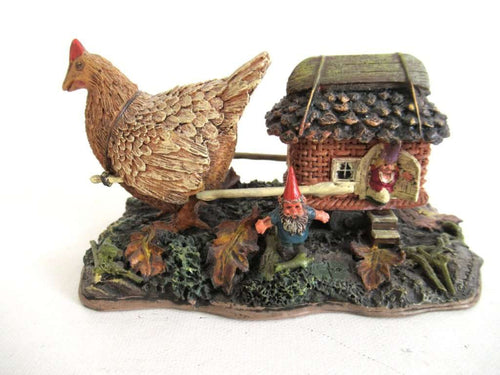 UpperDutch:Gnome,'On Vacation' Gnome family, Classic Gnomes Villages series designed by Rien Poortvliet