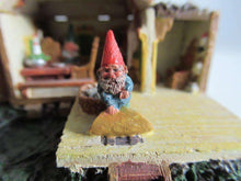 UpperDutch:Gnome,'Open house' Gnome figurine after a design by Rien Poortvliet. Dutch Classic Gnomes Villages series. AAAAAAA International Co. Ltd.