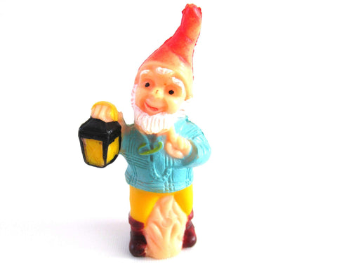 UpperDutch:Gnome,Vintage Small Miniature Gnome figurine.