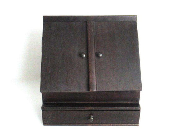 UpperDutch:Home and Decor,Stationary Cabinet. Letter box. Desk Stationary. Antique Writing Desk Box.
