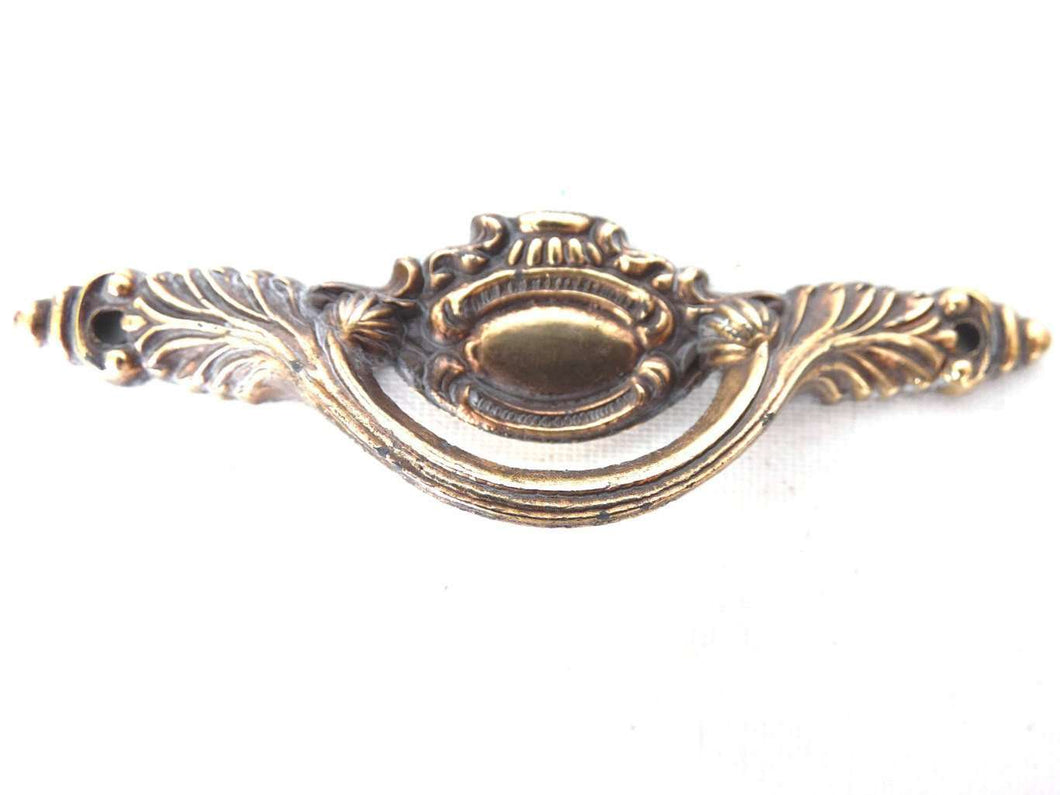 UpperDutch:Hooks and Hardware,Small Drawer Handle, Ornate Drawer Pull, Door Handle.
