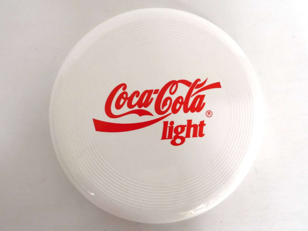 UpperDutch:,Frisbee, Coca Cola Frisbee, Vintage Coca Cola Light Frisbee. Coca Cola Collectibles.