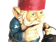 UpperDutch:Gnomes,33 INCH Garden gnome with Lantern. Rien Poortvliet, David the Gnome, Outdoor fantasy decor, el Gnomo. Klaus Wickl Garden Gift