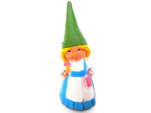 UpperDutch:Gnomes,1 (ONE) Gnome figurine, Gnome after a design by Rien Poortvliet, Brb Gnome, Lisa the Gnome.