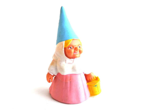 UpperDutch:Gnomes,Gnome figurine, Gnome after a design by Rien Poortvliet, Brb Gnome, Lisa the Gnome.