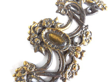 UpperDutch:Hooks and Hardware,1 (ONE) Floral ornament, Lion head,  furniture decoration, antique hardware, flower escutcheon, restoration hardware, applique.