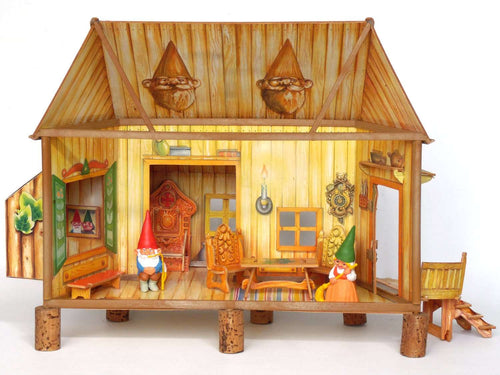 UpperDutch:Gnomes,Gnome Home, Living room, Gnome Decoration, Startoys, Rien Poortvliet, BRB collectibles, La Casa de los Gnomos, El Gran Salon.