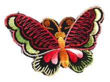 UpperDutch:Sewing Supplies,Antique Applique, Butterfly applique, 1930s vintage embroidered applique. Vintage patch, sewing supply. Applique, Crazy quilt.