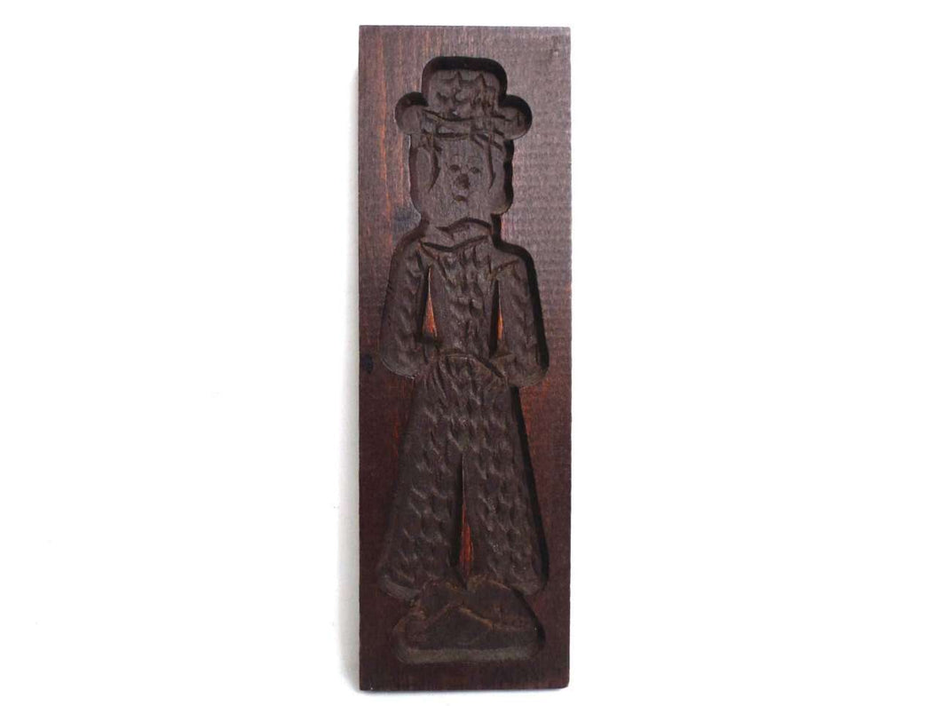 UpperDutch:Cookie Mold,Wooden cookie mold. Wooden Dutch Folk Art Cookie Mold. speculaas plank.