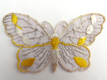 UpperDutch:Sewing Supplies,Applique, 1930s vintage embroidered butterfly applique. Vintage patch, sewing supply. Applique, Crazy quilt.