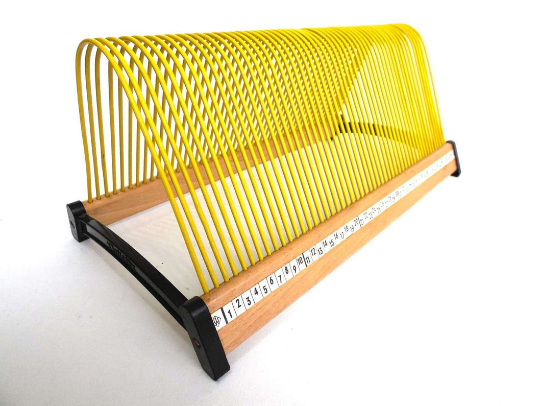 UpperDutch:Record Holder,Singles Rack, Yellow Singles Holder, stand for 7