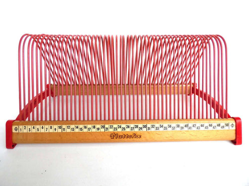 UpperDutch:Record Holder,Singles Rack, Pink / Red Singles Holder, stand for 7