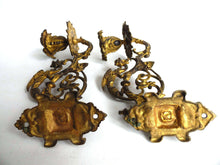 UpperDutch:,Piano Sconses  Pair Antique Solid Brass Victorian Piano Candelabra  piano candle holder, candle wall sconce.