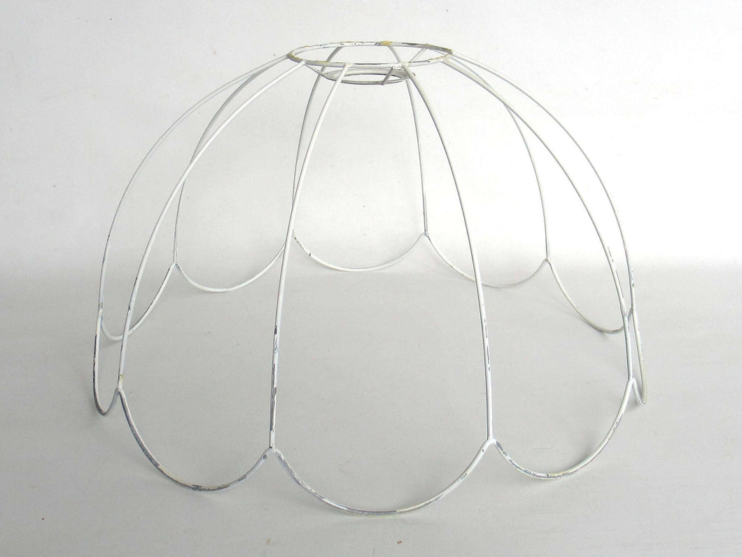 Lampshade frame, wire frame, Authentic vintage lampshade wire ...