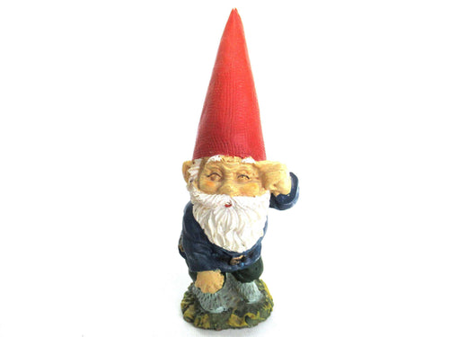 UpperDutch:Gnomes,Rien Poortvliet gnome, David the Gnome, Klaus Wickl, gnome figurine.