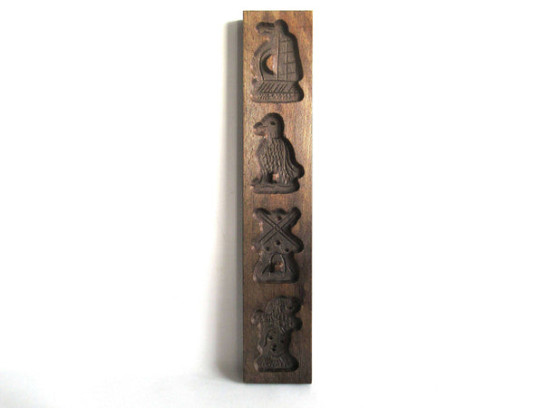 UpperDutch:Cookie Mold,Springerle Wooden cookie mold, Dutch Folk Art Cookie Mold. Speculaas Mold, speculoos.