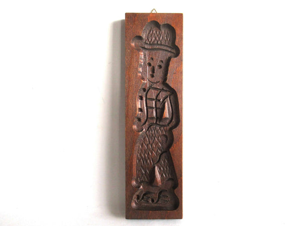UpperDutch:Cookie Mold,Cookie mold Dutch Folk Art, Vintage wooden Springerle,  speculaas plank, speculoos.