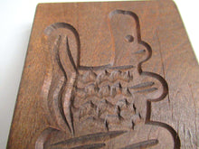 UpperDutch:,Small Wooden cookie mold Dutch Folk Art Cookie Mold. speculaas plank, springerle.