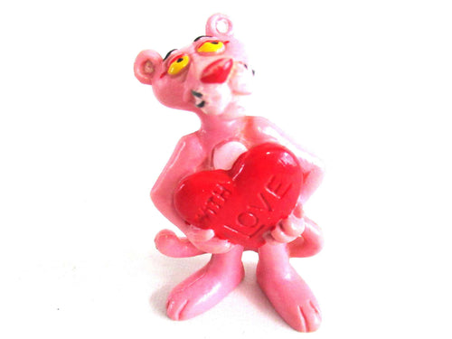 UpperDutch:Figurine,Pink Panther With Love Figurine Bully 1983 United Artists West Germany.