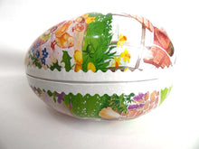 UpperDutch:Home and Decor,Easter Egg - German Easter Paper Mache Egg - Vintage Candy Container