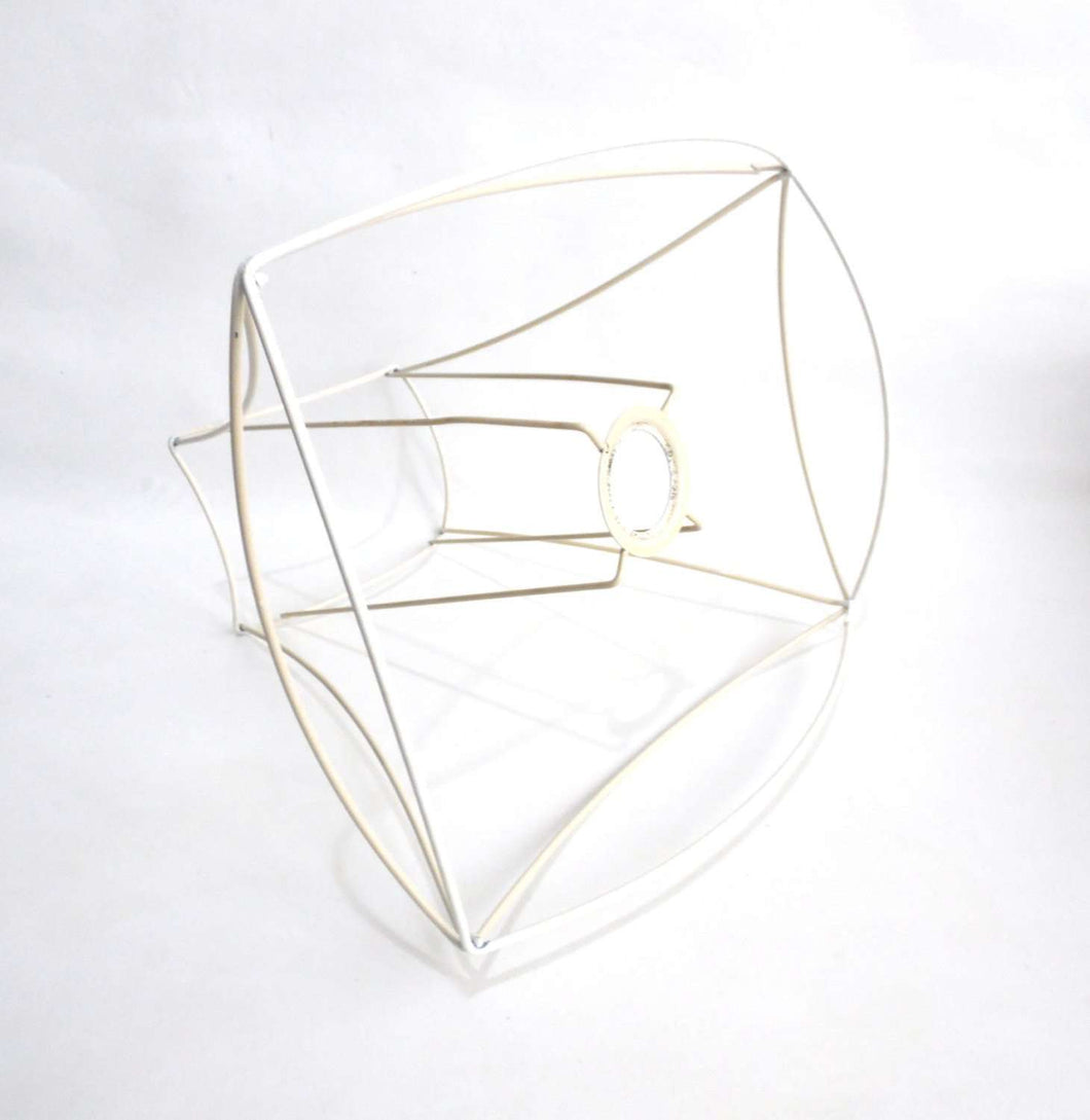 Lampshade frame, wire frame, Authentic vintage lampshade wire frame ...