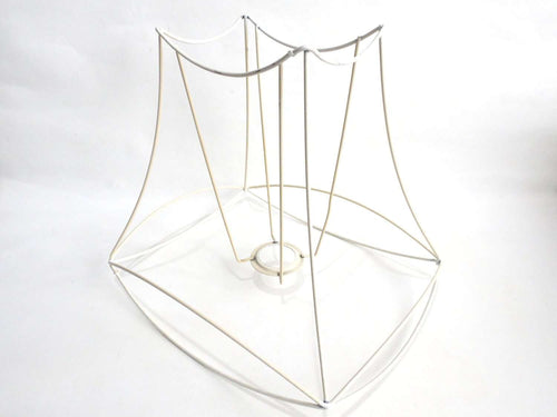 Sewing supplies tagged lamp shade frame upperdutch upperdutchlampshade framelampshade frame wire frame authentic vintage lampshade wire frame greentooth Gallery