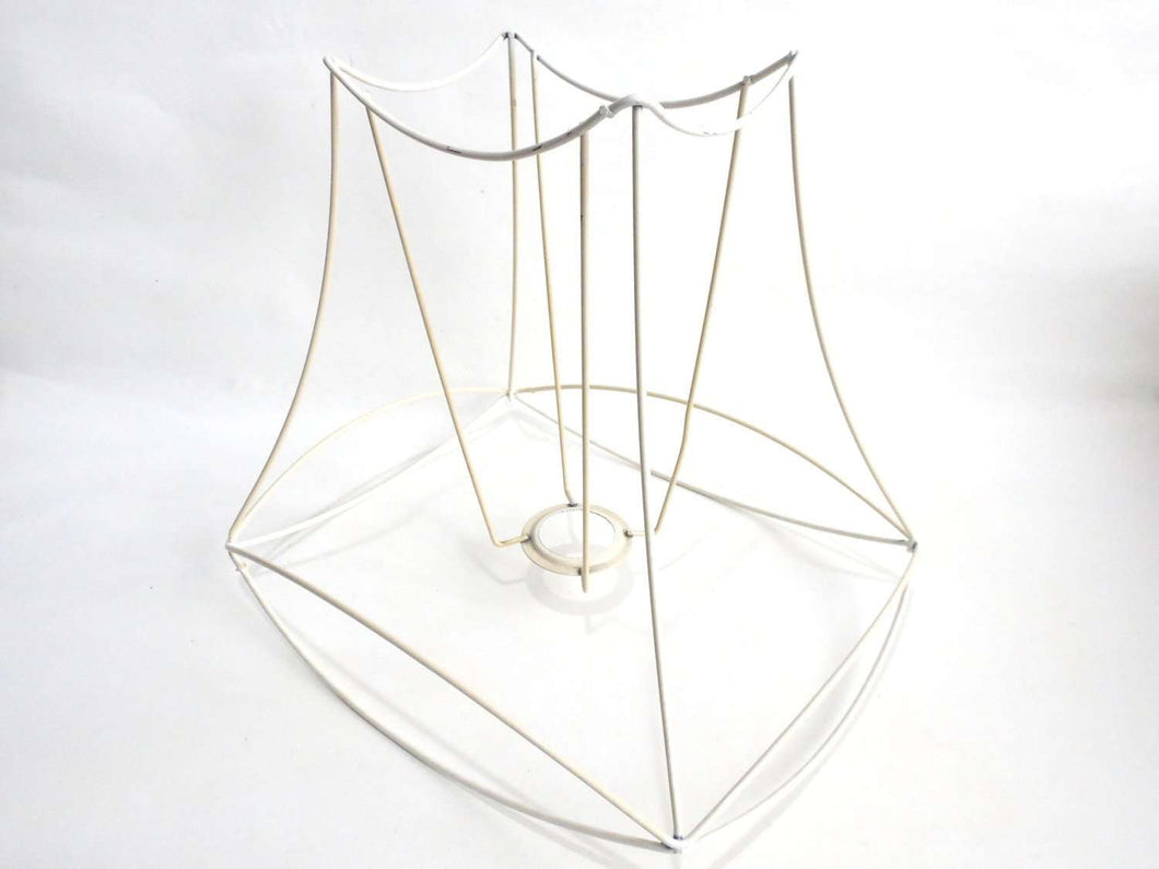 Lampshade frame wire frame authentic vintage lampshade wire frame upperdutchlampshade framelampshade frame wire frame authentic vintage lampshade wire frame greentooth Image collections