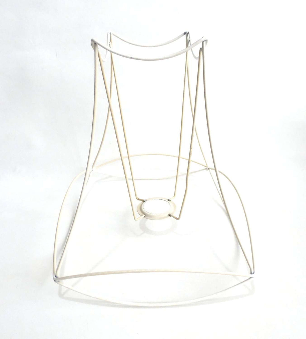 Lampshade frame wire frame authentic vintage lampshade wire frame upperdutchlampshade framelampshade frame wire frame authentic vintage lampshade wire frame greentooth Images